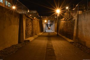 Old train tunnel by Joseph-W-Johns