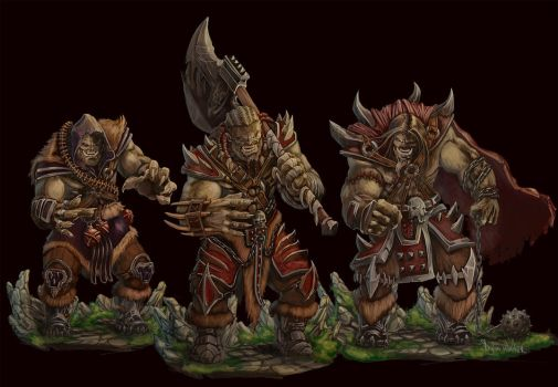 Orc Warrior by DyWalker