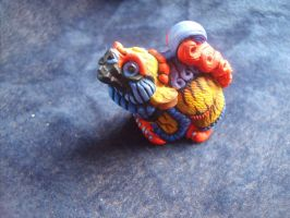Papillon PYO Windstone Foo Dog pup by fetherhd