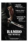 Rambo The Musical Fake Poster by anthonymarques