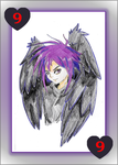 Dark Mousy - 9 of Hearts by Geckogirl315