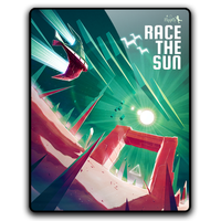 Race the Sun Glossy Icon by mgbeach