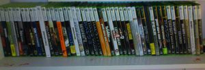 My Xbox Games Collection by TheWarRises