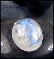 Rainbow Moonstone Cabochon by andromeda