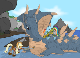 MH3U Ponies by MartinHello