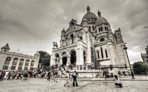 Sacre-Coeur I - Paris by ThomasHabets