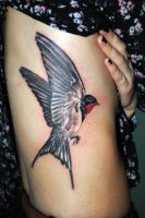 Swallow 2 by gettattoo