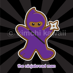 Contest Prize: Ninjabread Man by kimchikawaii