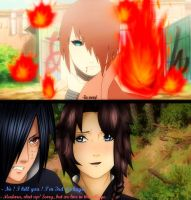 Yuuko vs. Madara - We live in the village. by Kazemye