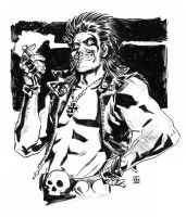 Lobo Sketch by deankotz