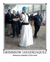 Awesome Cosplayer: Grimmjow Jaegerjaquez by MasterRBG