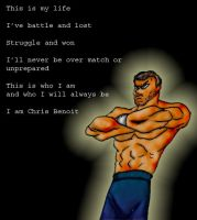 WWE_Chris Benoit by scrik