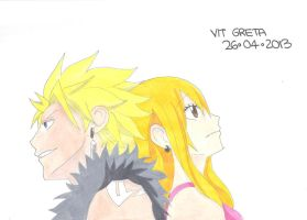 Sting and Lucy by Jelly9614