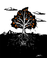 The Halloween Tree by caycowa
