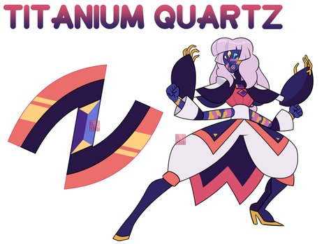 [C] - Titanium Quartz by FloofHips