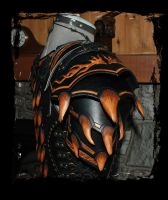 dragon female leather armor by Lagueuse