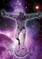 Silver Surfer by Bazza24