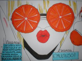 Orange-day Sunglasses detail by MikaLintu