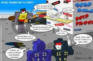 Dude Wheres My Autobot - Transformers by deadcal