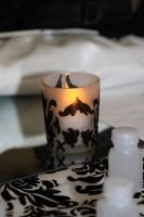Damask Votive Holders by Another-Broken-Angel