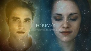 Edward and Bella - Forever - gif by oXGeRRyBeRRyXo