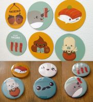Buttons n Magnets by orangecircle
