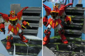 HG 1/144 Sword Calamity Conversion Build with DIO by s0tangh0n