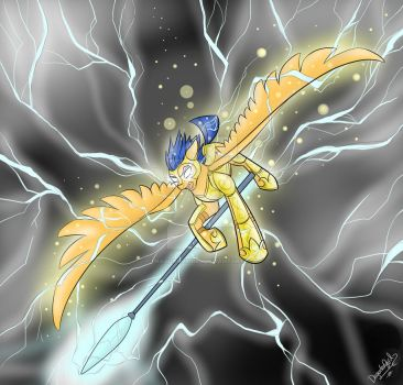 Blessed by Lightning by Dragonfoxgirl