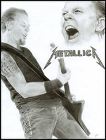James Hetfield by GishyAngelBear