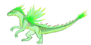 Tropical dragon by Kaly4