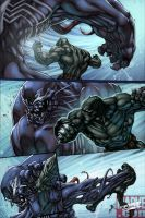 Venom vs Panther: Final by Nubry