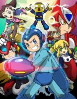 Megaman Tribute by gpanthony