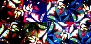 After Death Abstract Pop art final color by jedsart