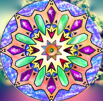 Big Crystal Mandala -challenge by Sulfura
