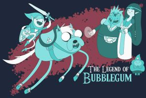 The Legend of Bubblegum by bullwinkleman