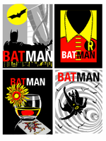 Batman/Mad Men - SKETCH by Theamat
