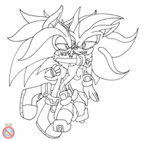CM: Shadilver lineart by shadowhatesomochao