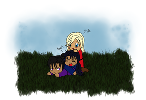 Original Characters: Seth, Koren, and Sierra by sycoandcrazy-inc
