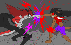 Evil Duel by Metal-Kitty