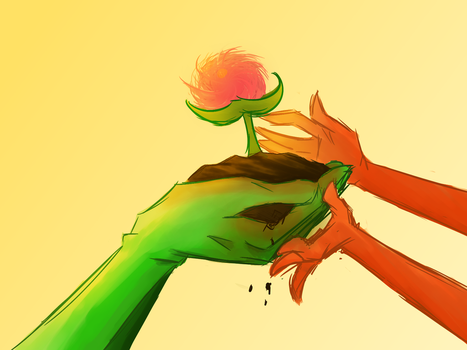 Let It Grow ~ Earth Day by HellCat5698