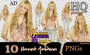 Hannah Montana Forever PNGs by Sharah11