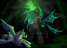 The Changeling Queen by 39-TheWolf