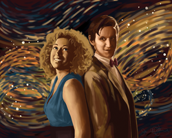 River and the Doctor by imaginarysam