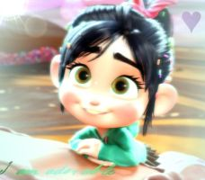 Vanellope Icon~ by VioletTheHedgehogg