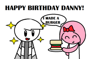 Happy birthday Danny! :D by GirlYouLove