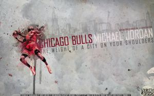 Michael Jordan Bulls Wallpaper by IshaanMishra