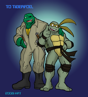 MNT Gaiden  Renoir and Raph 2 by theblindalley