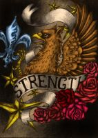 Strength of the Gryphon II by BloodMoonEquinox