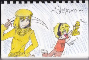 Golden Stephano by mudslovesstu