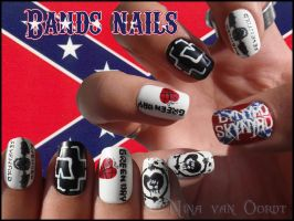 bands nails 4 by Ninails